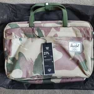 Herschel Bowen Backpack/Carry/Over Shoulder Bag